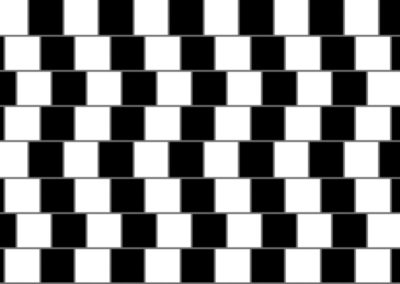 Crooked Lines Illusion