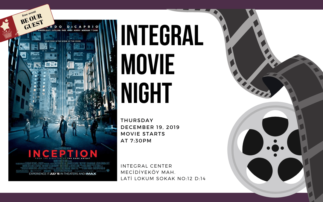 19.12.2019 Integral Movie and Pizza Night