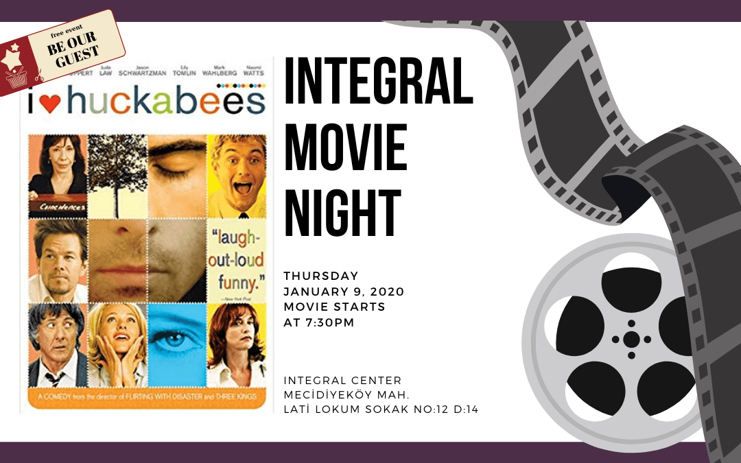 09.01.2020 Integral Movie and Pizza Night