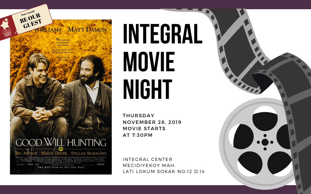 05.12.2019 Integral Movie and Pizza Night