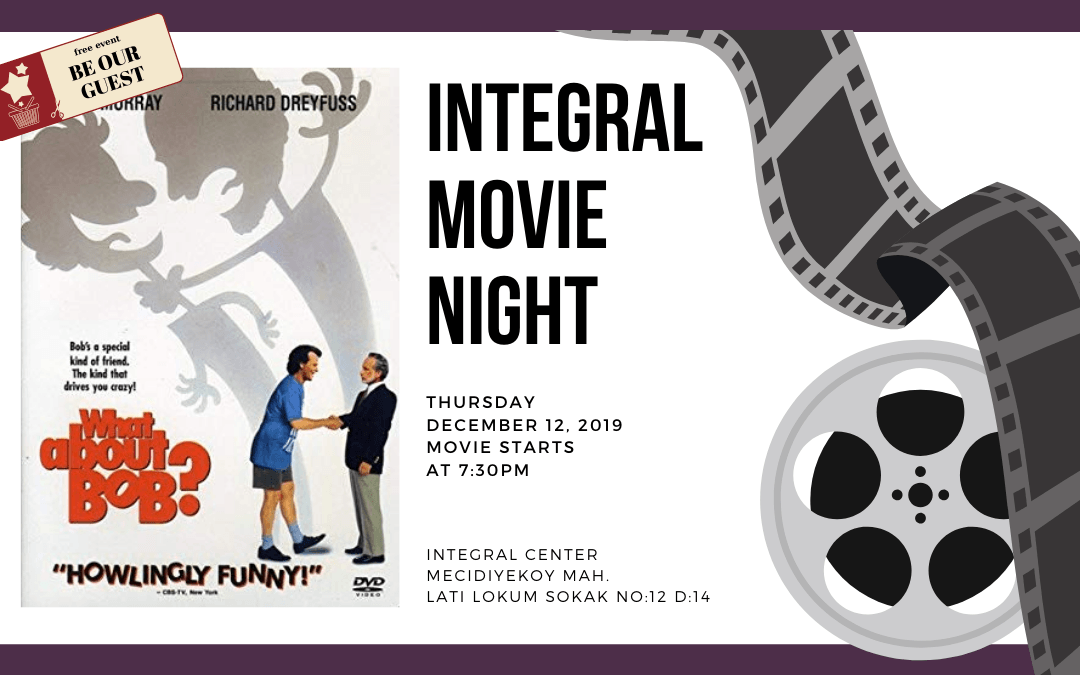 12.12.2019 Integral Movie and Pizza Night