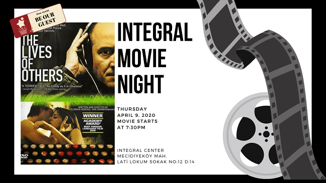 09.04.2020 İntegral Movie and Pizza Night