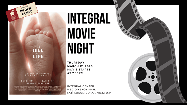 12.03.2020 İntegral Movie and Pizza Night