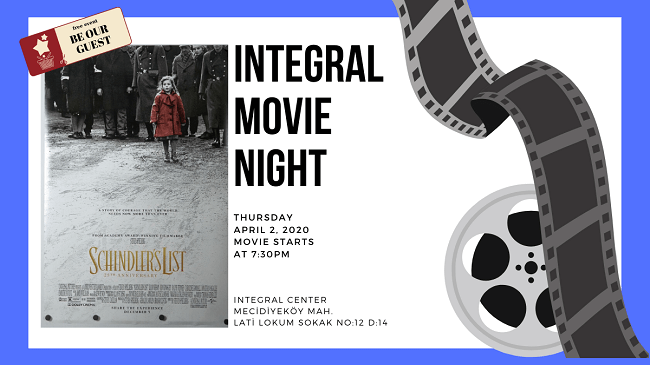 02.04.2020 İntegral Movie and Pizza Night