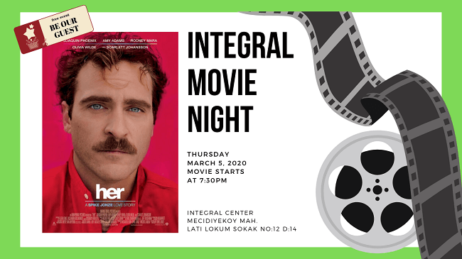 05.03.2020 İntegral Movie and Pizza Night