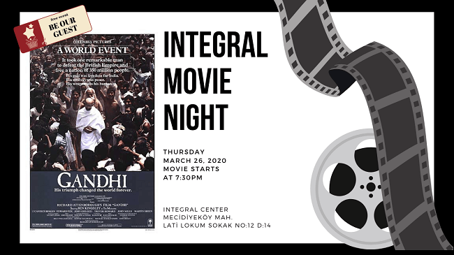 26.03.2020 İntegral Movie and Pizza Night