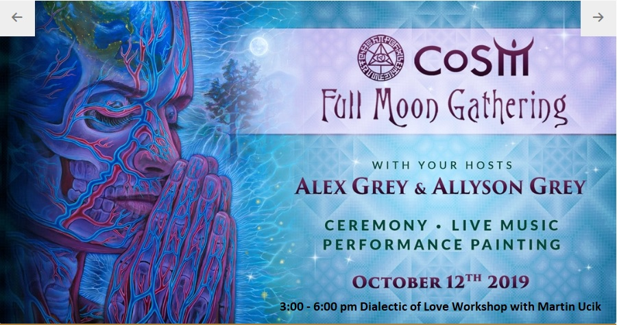Oct. 12. 2019, 3-6 PM – COSM Wappinger, NY, Dialectic of Love